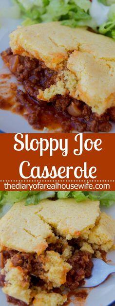 Sloppy Joe Casserole