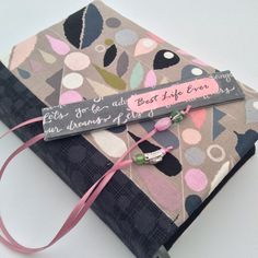 Geo Hills (Bible Cover & Matching Bookmark Set} ~ Nellie Style
