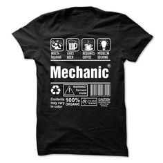 Proud To Be A Mechanic T-Shirts, Hoodies, Sweatshirts, Tee Shirts (23$ ==► Shopping Now!)