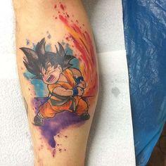Tatuajes de goku, aquí teneis más fotos de tatuajes de esta gran serie http://tatuajesde.net/goku/