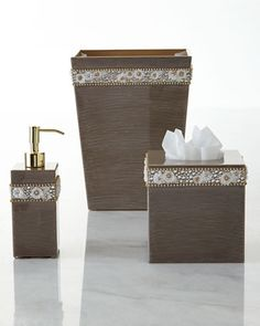 Chantilly Vanity Accessories at Horchow.