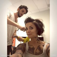 "Jaimie Alexander ""In the works ;) #BLINDSPOT #NBC"" (via JaimieAlexander on Twitter)"