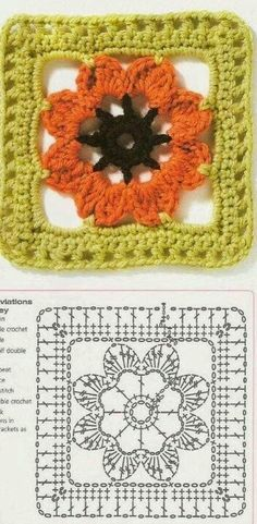 Weaving Arts in Crochet: Six Gorgeous Squares for You!