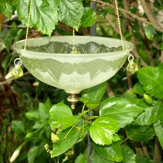 hanging light shade vintage fixture candle holder by ARTfulSalvage, $40.00