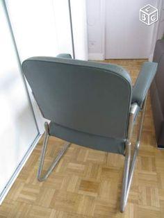 Chaise de bureau industrielle chambre Louis Pinterest