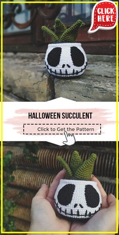 Crochet Skull, Crochet Geek, Love Crochet, Crochet Crafts, Easy Crochet, Crochet Flowers, Crochet Projects, Knit Crochet, Halloween Crochet Patterns
