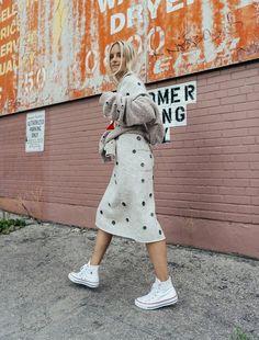 Dress: tumblr embellished embellished eyelet detail eyelet midi knitwear knitted white long sleeves