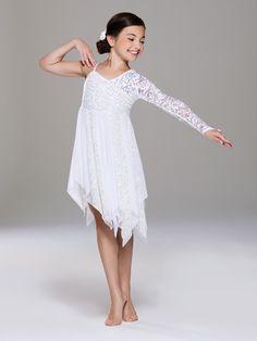 NEW 2018! Snowfall - Style RC18533 #dance #dancecostumes #dancerecital #ballet #tap #Jazz #costume #revolutiondancewear #revolution #revolutioncostumes #lyrical #lyricalcostume