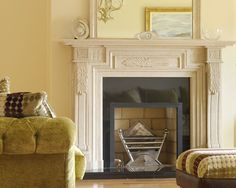 Ancient Antique Fireplace to Bring Back Your Old Memories: Marvelos White Classical Antique Fireplaces Artistic Design Ideas ~ nabilags.com Fireplace Inspiration