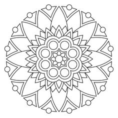13 kids coloring pages mandala | Print Color Craft