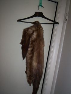 Vintage Stone Martin Fur Stole  $199.99  Get the sophisticated look for the holidays!  PLCandMore on Etsy