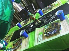 Cupcake Wishes & Birthday Dreams: {Party Recap} Teenage Mutant Ninja Turtle Party