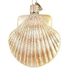 Old World Christmas Clam Shell Ornament by Old World Christmas