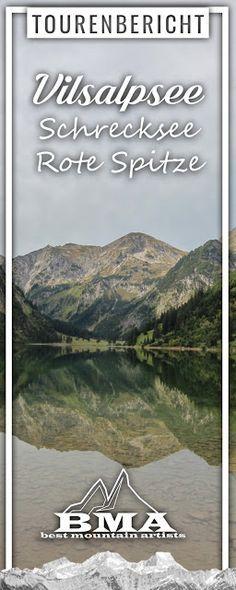 Wanderung Vilsalpsee, Schrecksee, Rote Spitze, Landsberger Hütte