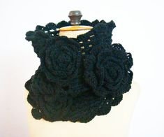 Hey, I found this really awesome Etsy listing at http://www.etsy.com/listing/116035487/cowl-snood-neckwarmer-crochet-flower