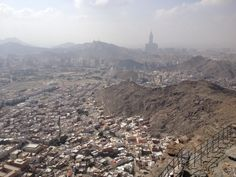 View from Jabal e Noor [Cave of Hira], Makkah via @MuftiAbdullah