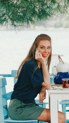 Turkish Women Beautiful, Turkish Beauty, Dark Blonde Hair Color, Elcin Sangu, Trendy Fall Outfits, Cute Bathing Suits, Turkish Actors, Outfit Goals, Actors & Actresses
