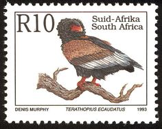 Bateleur stamps - mainly images - gallery format