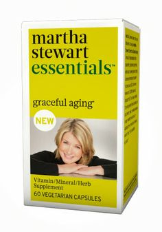 Martha Stewart Vitamins. Graceful Aging is a whole-food-based vegetarian formula that nourishes and protects cells to help support their overall health with green te...