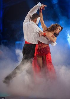 Fast footed: Kara Tointon also won Strictly Come Dancing in 2010 - where she also met her boyfriend Artem Chigvintsev