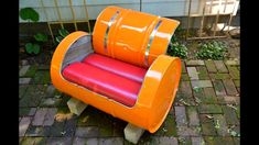 Over 50 Barrel Recycle Creative Ideas 2016 - Sofa Lampa Couch Closet