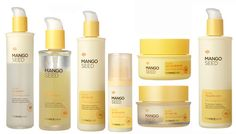 THE FACE SHOP Mango seed silk moisturizing clinic line Flushing improvement     Best seller and hit cosmetics at Korea on year 2012.