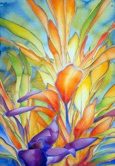 Watercolor by Carol Carter - beautiful colors
