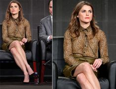 Keri Russell In Saint Laurent & Balenciaga – 'The Americans' Panel Discussion