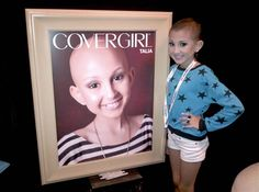 talia castellano , most inspiring girl with cancer was made an honorary covergirl by the amazing Ellen DeGeneres !! <3 just keep swimming beautiful girl .
