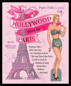 HOLLYWOOD GOES TO PARIS cover