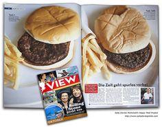 La hamburguesa indestructible... 146 días después puaaaj!
