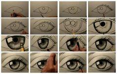 oog tekenen