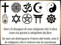 il popolo del blog,: il bene è la coscienza non la religione