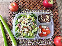 Mayo Free Waldorf Salad Meal -To-Go Lunch