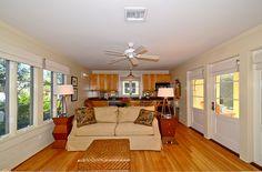 Living Area (1st floor) | Love Me Tender, Love Me True | Cottage Rental Agency | Seaside, Florida