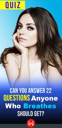 You're breathing right? You should have no problem getting all of these questions right! Let's see if you can ace this Knowledge quiz. Take a deep breath and go ahead! Interesting Quizzes, Knowledge Quiz, Name Generator, Deep Breath, Brain Tests, Trivia, Breathe, Random Quizzes, Quizes