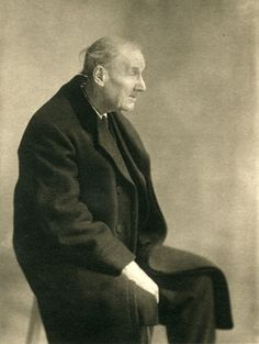 Eugene Atget. Photo by Berenice Abbott. What a lovely photo of someone who worked until the end of his life. Just his posture shows the wear and tear on a man who went out each day with his camera. He documented a Paris that almost no longer exists.