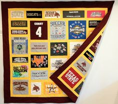 Double-sided T-Shirt Quilt