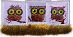 """""""Hypnotic Owls"""" by Eugen Crisan"""