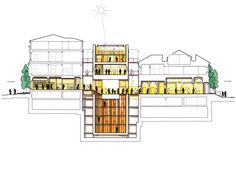renzo piano_morgan library expansion_rendered section