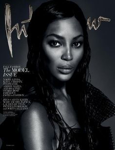 The Model Issue – For its September issue, Interview Magazine taps a cast of all supermodels for a series of seven individual covers shot by Mert & Marcus. Beauties Kate Moss, Naomi Campbell, Daria Werbowy, Amber Valletta, Stephanie Seymour, Christy Turlington and Linda Evangelista all pose in dynamic black and white images for the new issue.