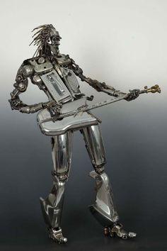 Contemporary Metal Sculptures | James Corbett — Daily Art Fixx - Art Blog: Modern Art, Art History ...