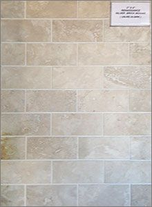 Renaissance Silver Porcelain Brick Mosaic Backsplash Tiles