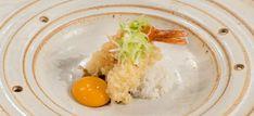 Aprenda a fazer a receita Camarão com molho teriyaki e ovo yamaguishi