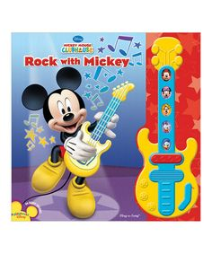 Look what I found on #zulily! Rock with Mickey Hardcover #zulilyfinds