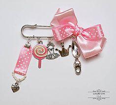 Odznaky/Brošne - brošnička Little Pink - 5612194_
