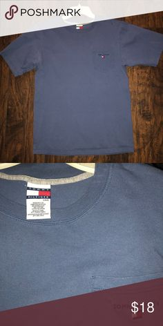 Tommy Hilfiger Tommy Hilfiger in perfect condition tag says men's size large but fits as a medium (Tags: Gucci vintage polo Ralph Lauren crew neck big flag champion shoes boxers socks Calvin Klein Nike adidas hat tommy jeans authentic and original air max under armour logo new balance Columbia north face puma Burberry Patagonia windbreaker) Tommy Hilfiger Shirts