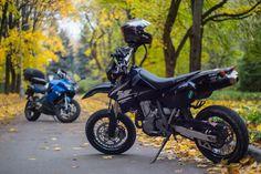 my moto Suzuki DR-Z400sm'05