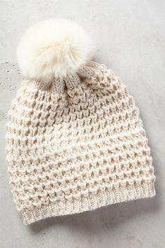 Pom-Pom Knit Beanie #anthropologie