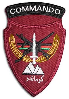 Commandos of the Afghan National Army